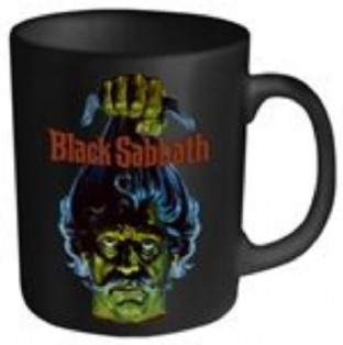 BLACK SABBATH, BLACK SABBATH (HEAD) - MUG (11oz) (Brand New Sealed In Box)